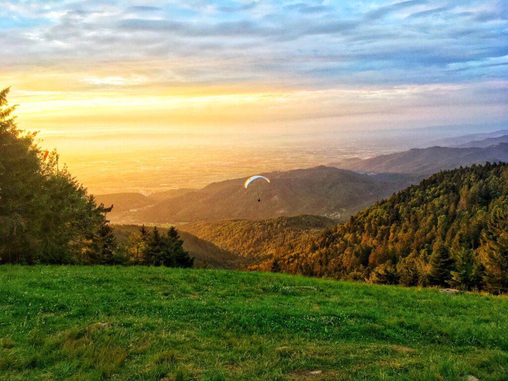 Paragliding Hochblauen